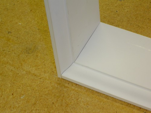 Assembled coping joint
