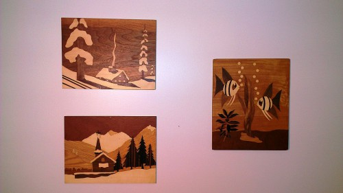 My marquetry artwork collection