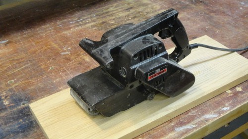 My trusty Craftsman belt sander