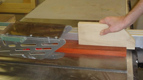 Your basic table saw push block
