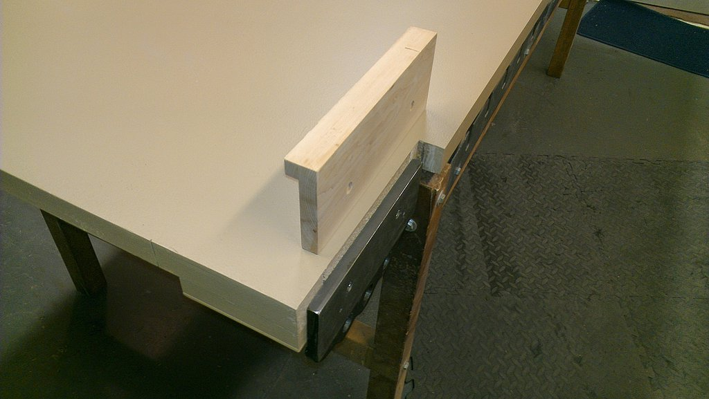 Installing A Front Mounted Workbench Vise Woodbin