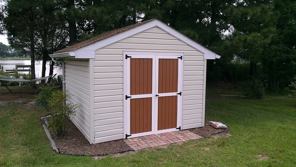 Brand new weatherproof shed doors