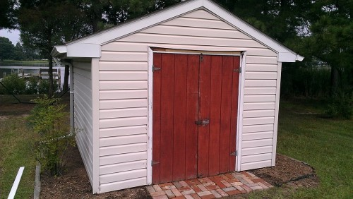 old-shed-door