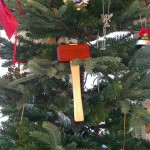 A mini-mallet makes a great tree ornament!
