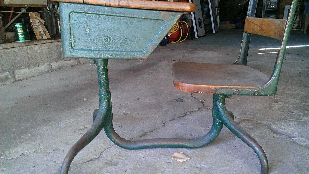 Old Rusty Desk