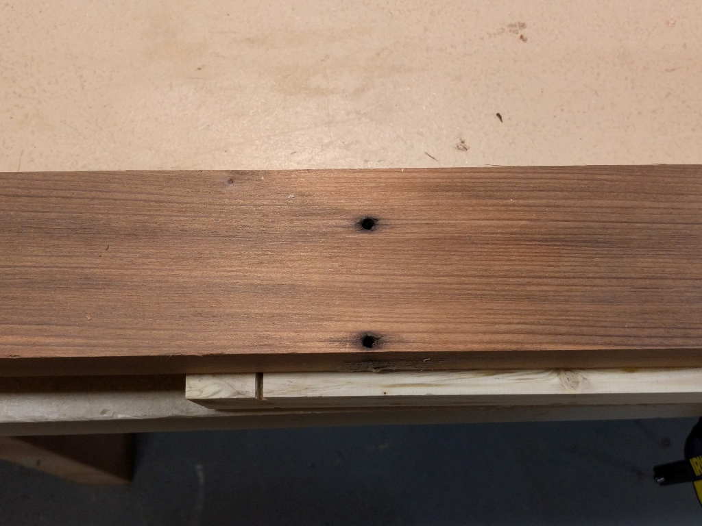 How To Fix Nail Holes In Reclaimed Wood